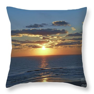 Daytona Sunrise 1 Throw Pillow