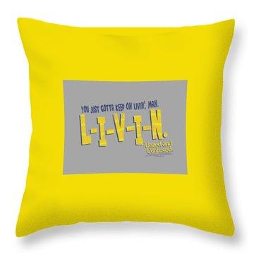 Dazed Throw Pillows