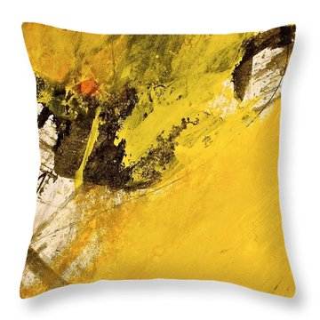 Dazed Days Of Purple Haze Throw Pillow