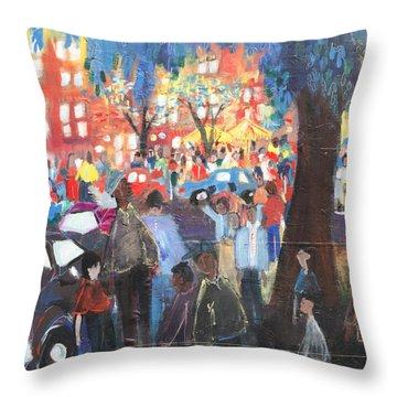 D.c. Market Throw Pillow