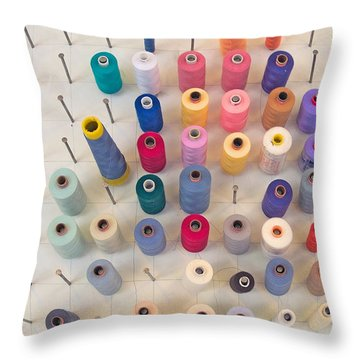 De Klos - Spooled Throw Pillow