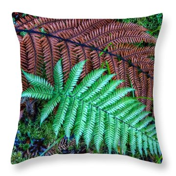 Dead And Alive Throw Pillow