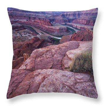 Dead Horse Point Throw Pillow