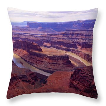 Dead Horse Pt. Throw Pillow