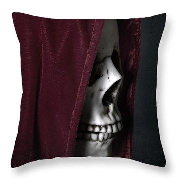 Dead Knight Throw Pillow by Joana Kruse