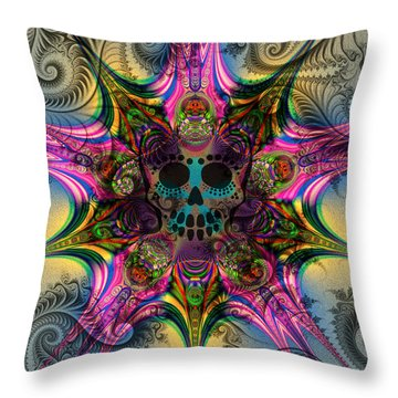 Dead Star Throw Pillow