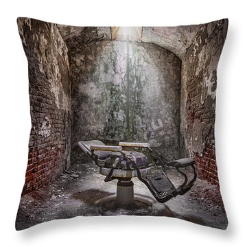 Dear Agony Throw Pillow