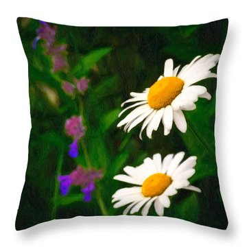Dear Daisy Throw Pillow
