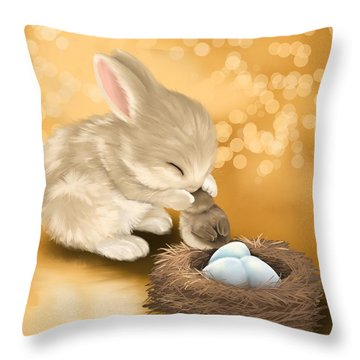 Dear Friend Throw Pillow