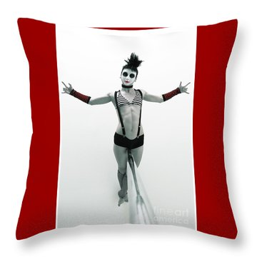 Death Lay Throw Pillow