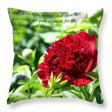 Death Shall Be No More Throw Pillow by Deena Stoddard