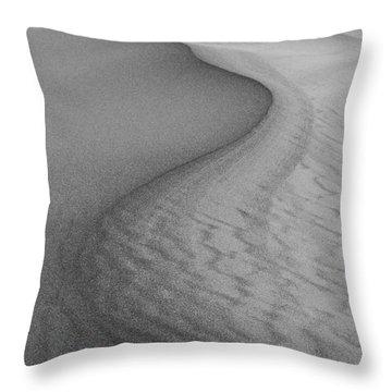 Death Valley Sand Dunes Throw Pillow by Juli Scalzi