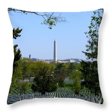 Debt Of Gratitude Throw Pillow by Patti Whitten