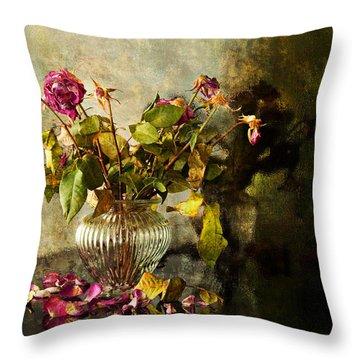 Decadence 1 Throw Pillow by Theresa Tahara