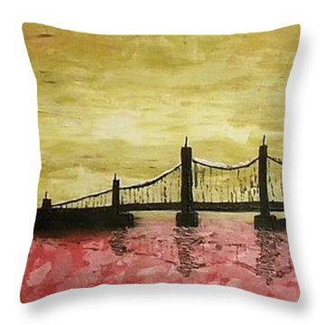 Decadente Throw Pillow