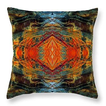 Decalcomaniac Intersection 2 Throw Pillow