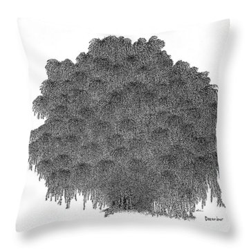 December '12 Throw Pillow