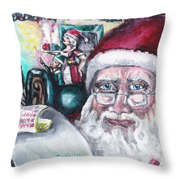 December Throw Pillow by Shana Rowe Jackson