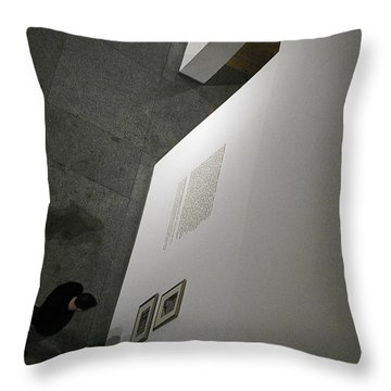 Deciding Throw Pillow