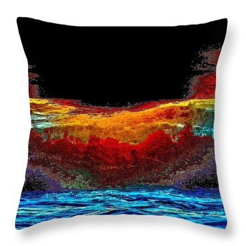 Brinkmanship Throw Pillow