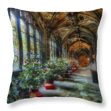 Deck The Halls Throw Pillow by Ian Mitchell