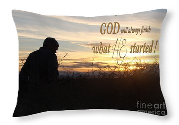 Declare Gods Word Throw Pillow by Beverly Guilliams