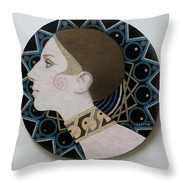 Deco Barbra Throw Pillow