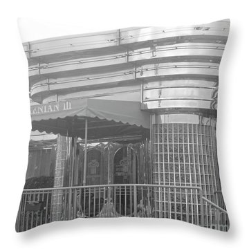 Deco Diner Throw Pillow