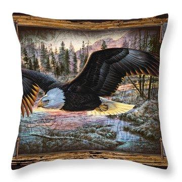 Bald Eagle Throw Pillows