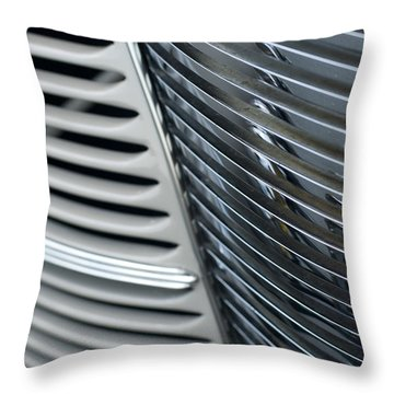 Throw Pillow featuring the photograph Deco Grill by Denise Beverly