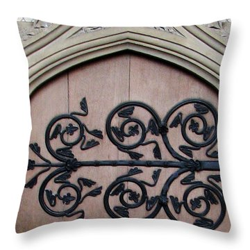 Decorative Hinge Throw Pillow