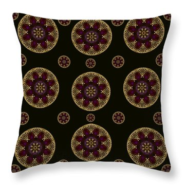 Decorative Pearls Pattern Throw Pillow
