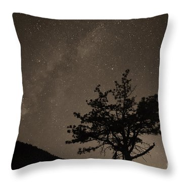 Deep Deep Deep Into The Night  Throw Pillow by James BO  Insogna