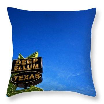 Deep Ellum Throw Pillow