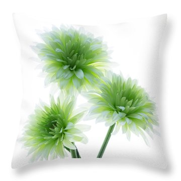 Deep In The Roots All Flowers Keep The Light Throw Pillow