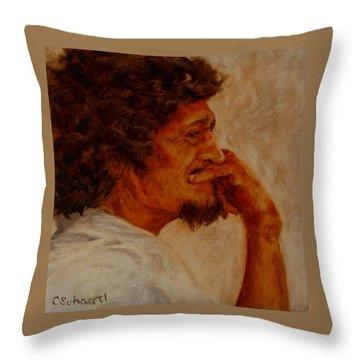 Inner Musings Throw Pillow by Connie Schaertl