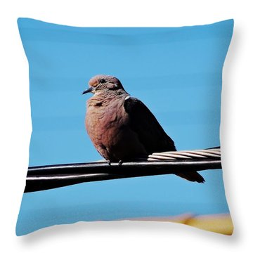 Deep In Thoughts Throw Pillow