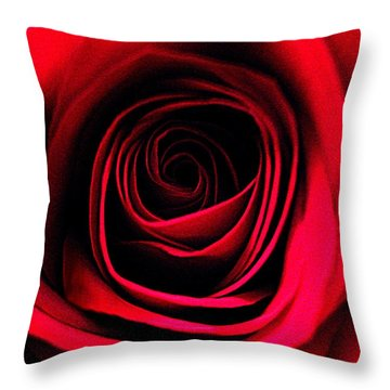 Deep Love Throw Pillow by Shirley Sirois