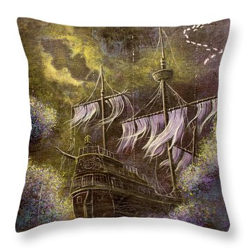Deep Peace Throw Pillow