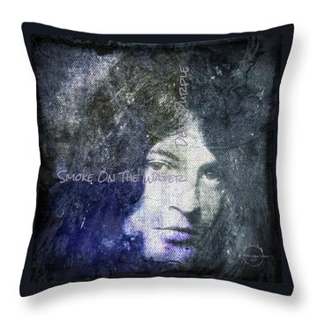 Deep Purple - Smoke On The Water Throw Pillow