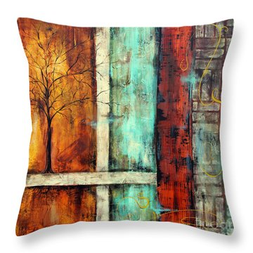 Deep Roots-a Throw Pillow by Jean Plout