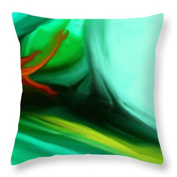 Deep Sea Throw Pillow