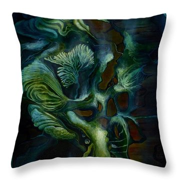 Deep Sea Within Throw Pillow