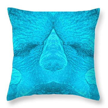 Deep Sleep Throw Pillow by Carlos Vieira