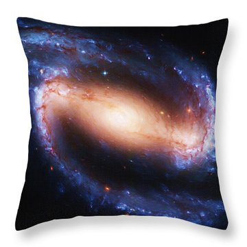 Deep Space Throw Pillow by Ayse and Deniz