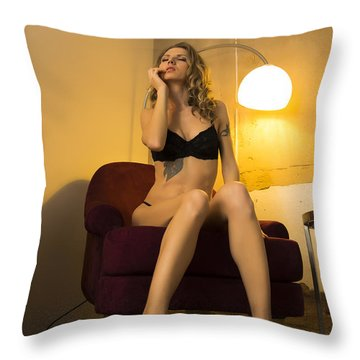 Deep Thoughts 1 Throw Pillow