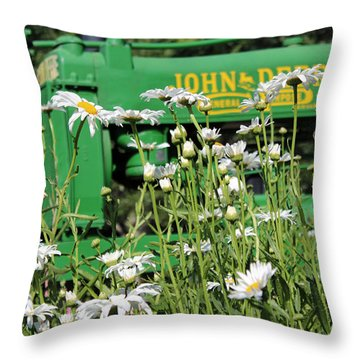 Deere 1 Throw Pillow
