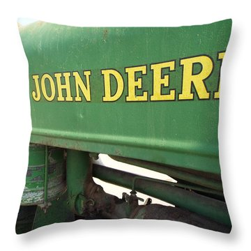 Deere Support Throw Pillow