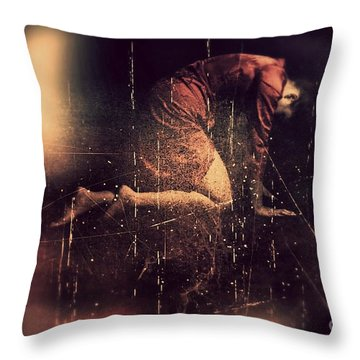 Defeated Throw Pillow