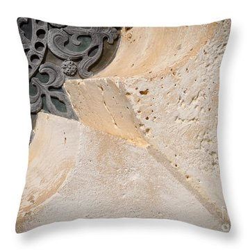 Degoyler Limestone Throw Pillow